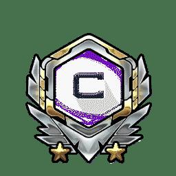 Overwatch Portrait Rahmen Level 2071-2080