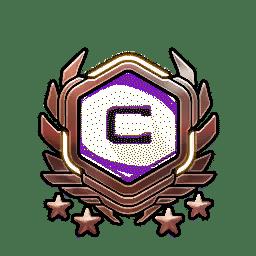 Overwatch Portrait Rahmen Level 481-490