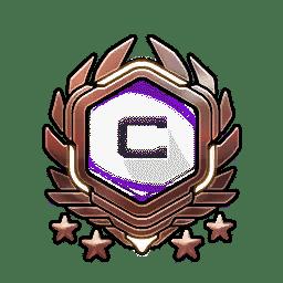 Overwatch Portrait Rahmen Level 491-500