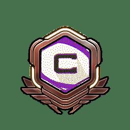 Overwatch Portrait Rahmen Level 51-60