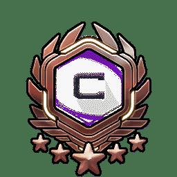 Overwatch Portrait Rahmen Level 591-600
