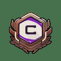 Overwatch Portrait Rahmen Level 71-80