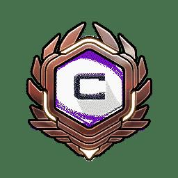 Overwatch Portrait Rahmen Level 91-100