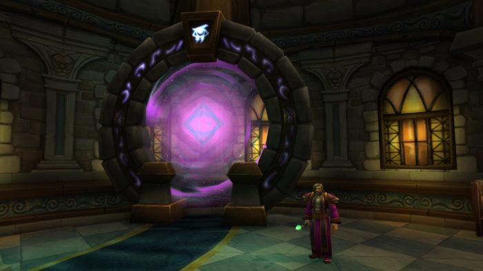 Eingang zum Magierturm