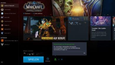 Photo of Patch 8.1.5 befindet sich im Background-Download