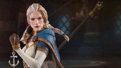 Photo of Statue von Jaina Prachtmeer im Blizzard Gear Store
