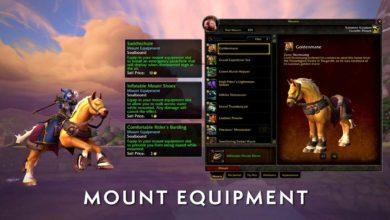Bild von Patch 8.2 bringt Mount-Ausrüstung ins Spiel