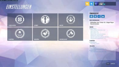 Photo of Overwatch Workshop Mode Vorstellung: Aim Trainer V2