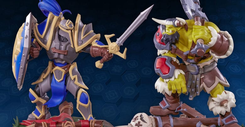 Warcraft-Jubiläumsstatue zur BlizzCon 2019