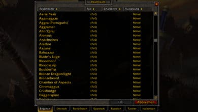 Photo of WoW Classic mit DE und FR Realms
