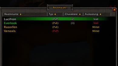 Photo of Charakterbeschränkung auf Classic-Realms wird entfernt