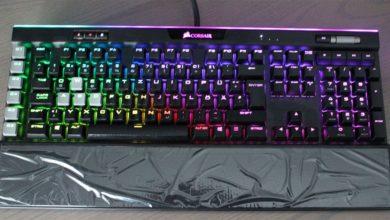 Bild von Corsair K95 RGB Platinum Tastatur im Test