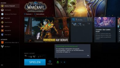 Photo of WoW Patch 8.2.5 im Background Downloader