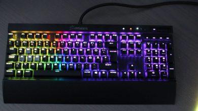 Bild von Corsair K70 LUX RGB Tastatur im Test