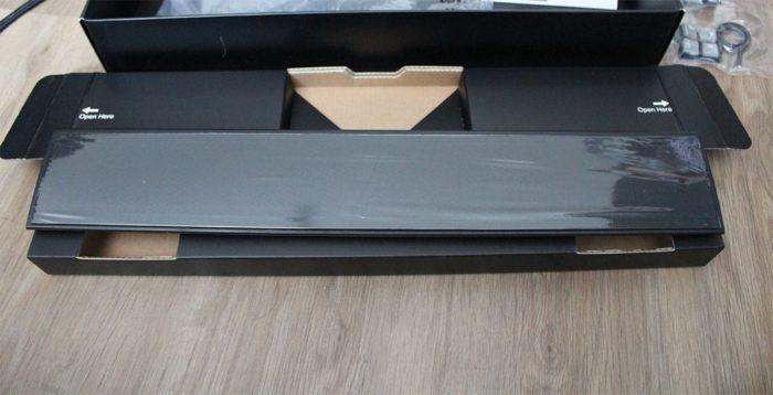 Handfläche von der Corsair K95 RGB Platinum