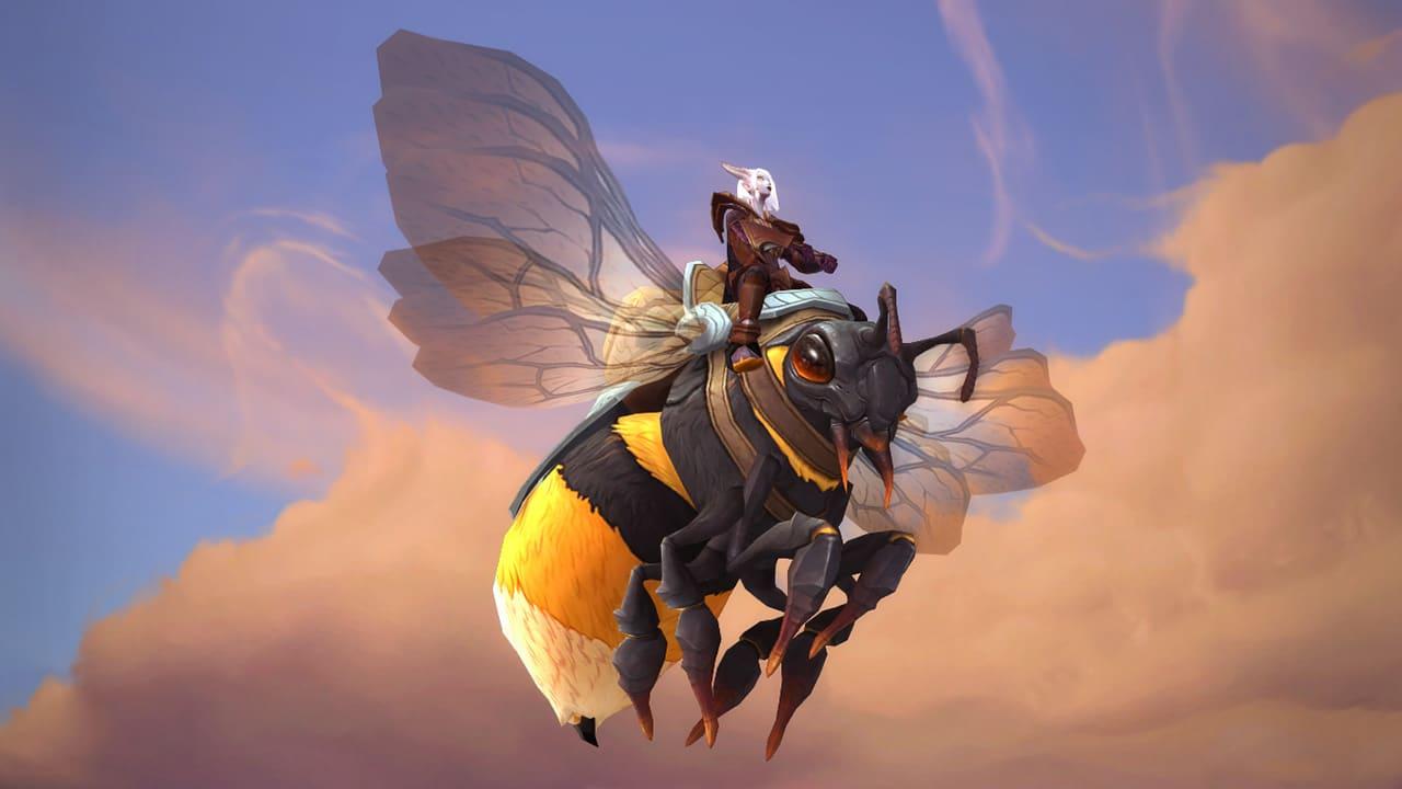 Neues Reittier: Honigrückenernterin (Allianz)