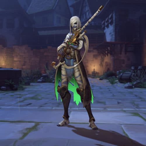 Overwatch Halloween Event 2019 Skin - Ana