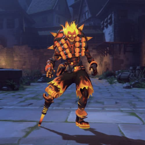Overwatch Halloween Event 2019 Skin - Junkrat