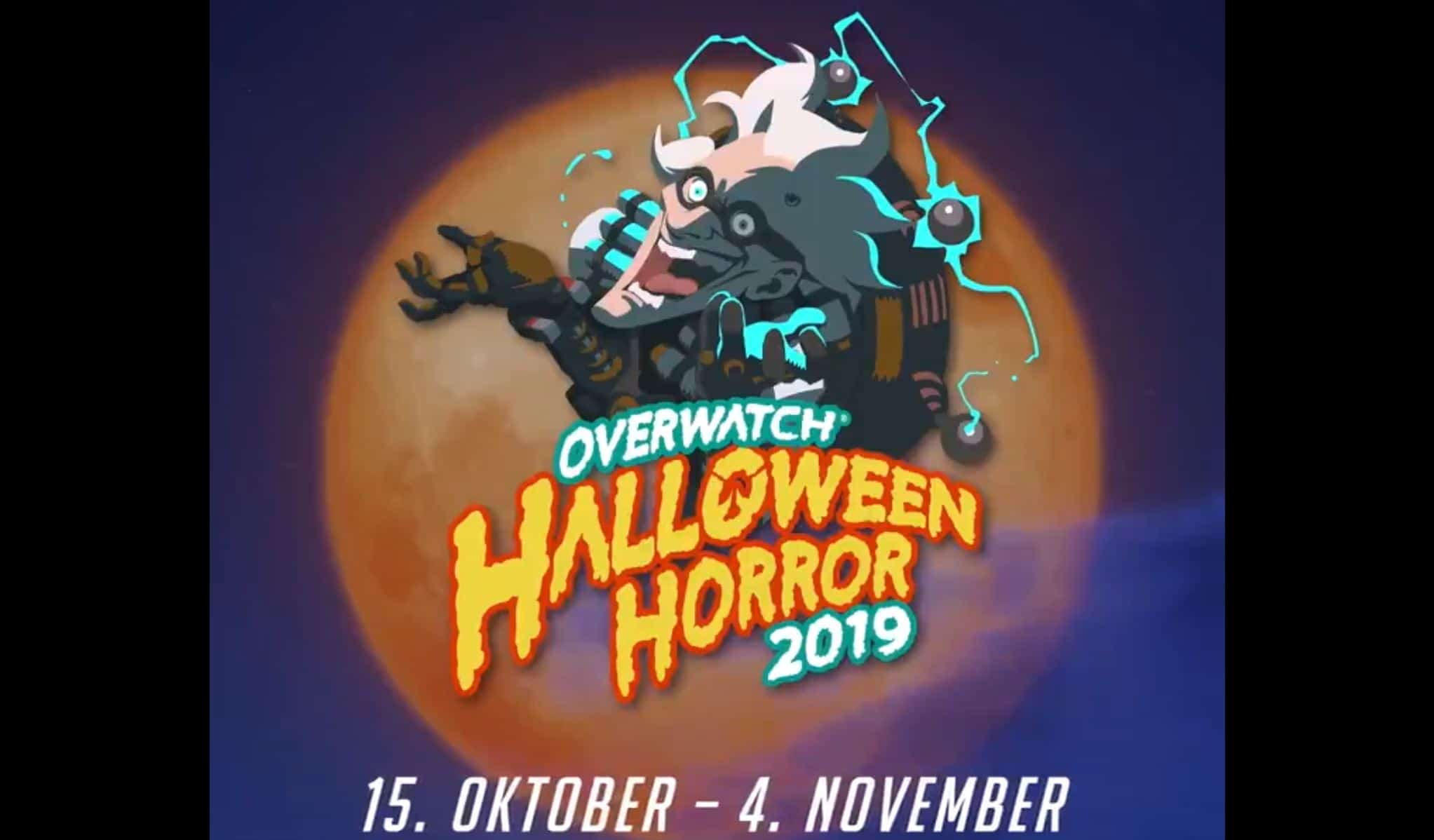 Overwtach Halloween Event 2019 startet heute