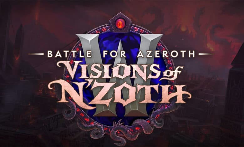Patch 8.3 - Visions of N'Zoth