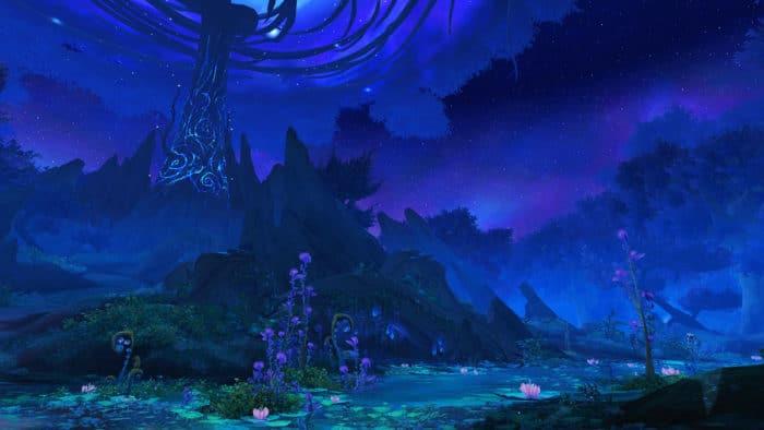 Pakt der Nachtfae zeigt den Ardenwald
