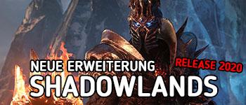WoW Shadowlands wurde angekündigt