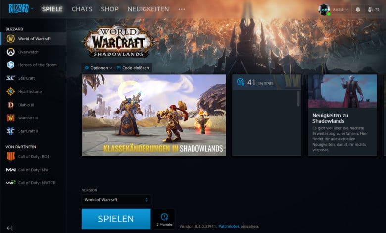 Blizzard Battle.net App