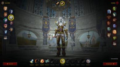 WoW Charaktererstellung mit Shadowlands